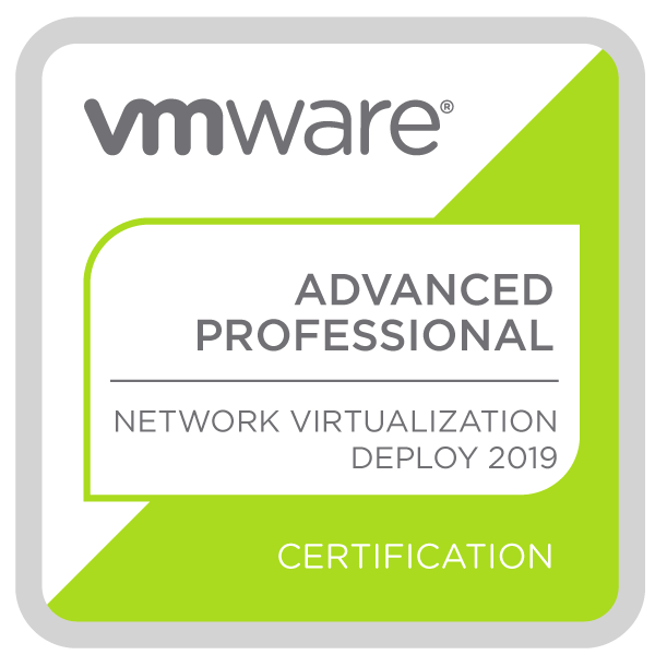 VMware Certified Advanced Professional - Network Virtualization Deployment 2019
