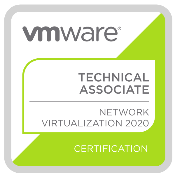 VMware Certified Technical Associate - Network Virtualization 2020