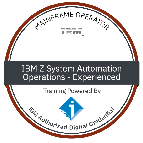 Interskill - IBM Z System Automation - Operations - Experienced
