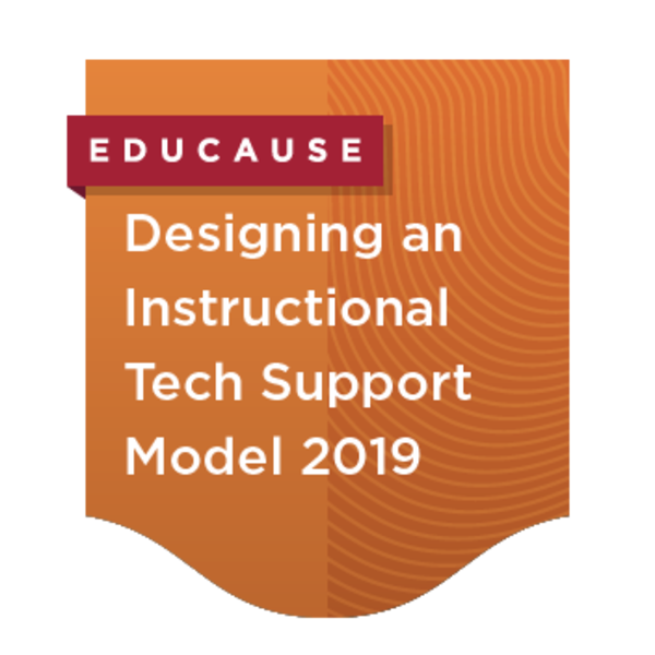 Designing a Collaborative Instructional Technology Support Model