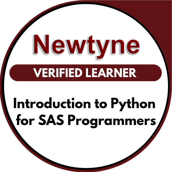 Introduction to Python for SAS Programmers