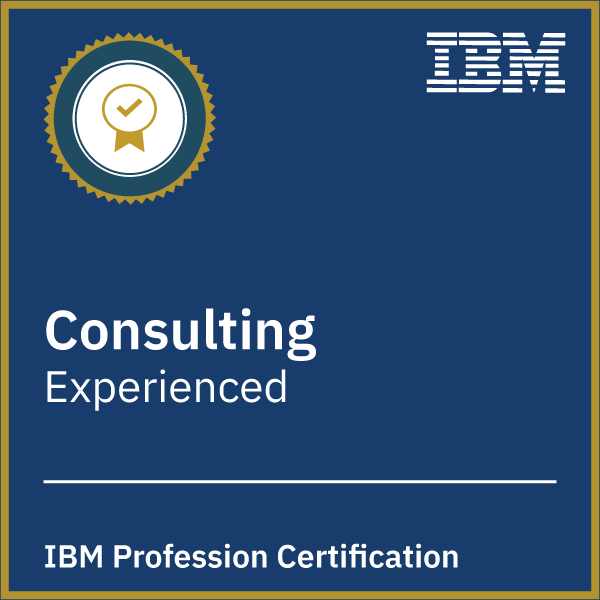 IBM Consulting Profession Certification - Experienced