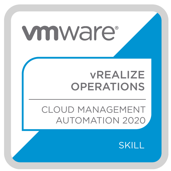 VMware vRealize Operations - Cloud Management Automation 2020