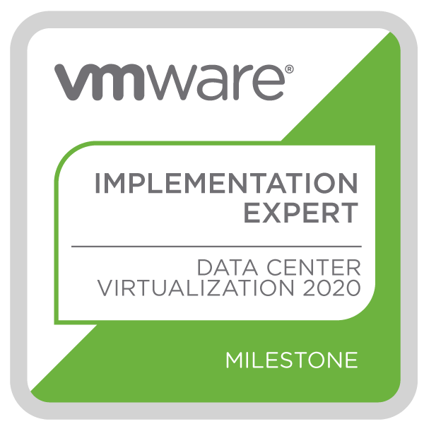 VMware Certified Implementation Expert - Data Center Virtualization 2020