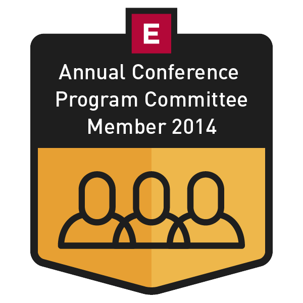 Annual Conference Program Committee Member 2014