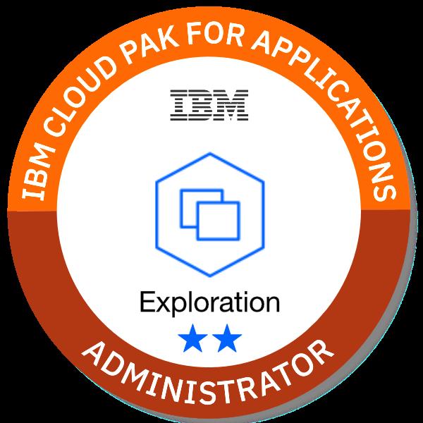 IBM Cloud Pak for Applications - Administrator (Exploration **)
