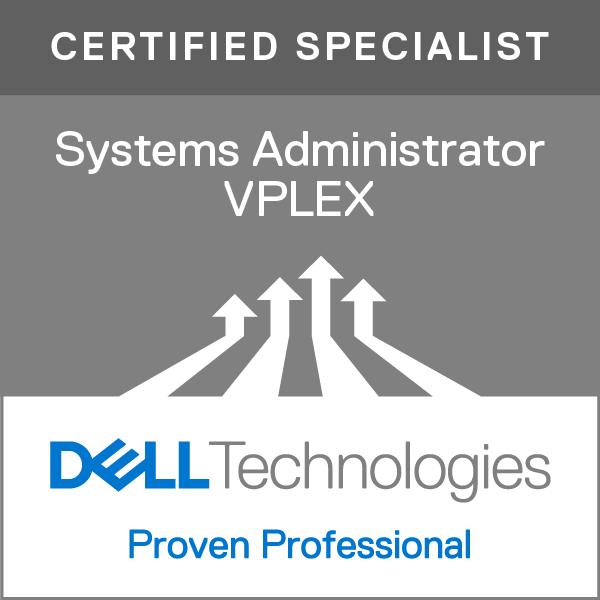 Specialist - Systems Administrator, VPLEX Version 2.0