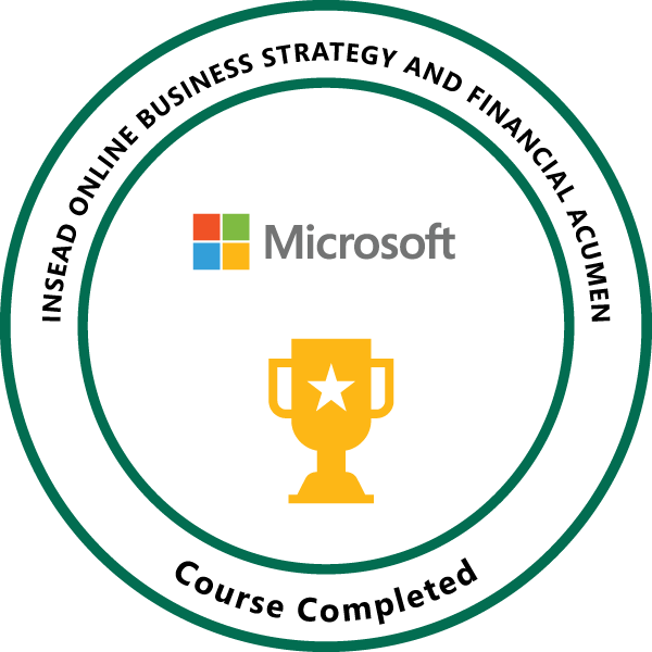 Microsoft-INSEAD Online Business Strategy and Financial Acumen