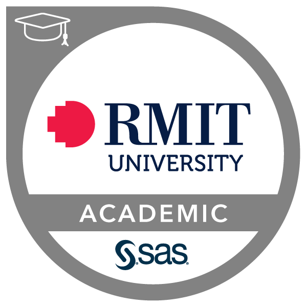 RMIT-SAS Joint Certificate in Analytics