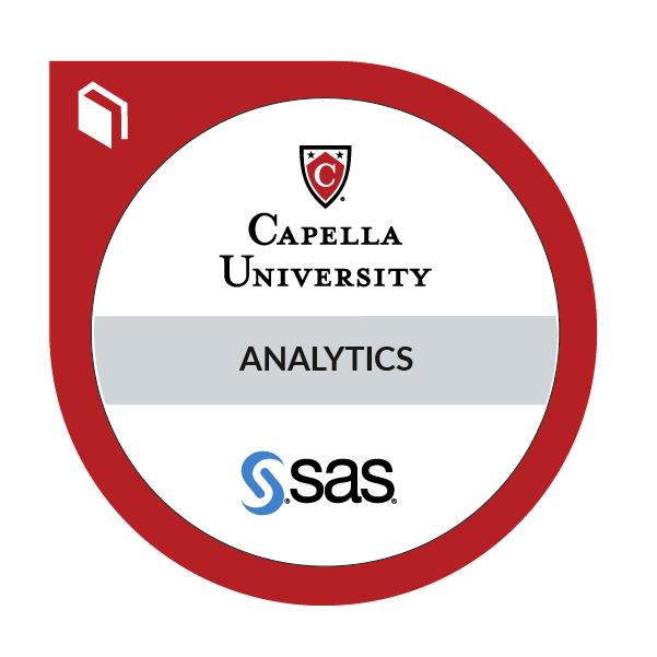 Analytics Using SAS Graduate Certificate®
