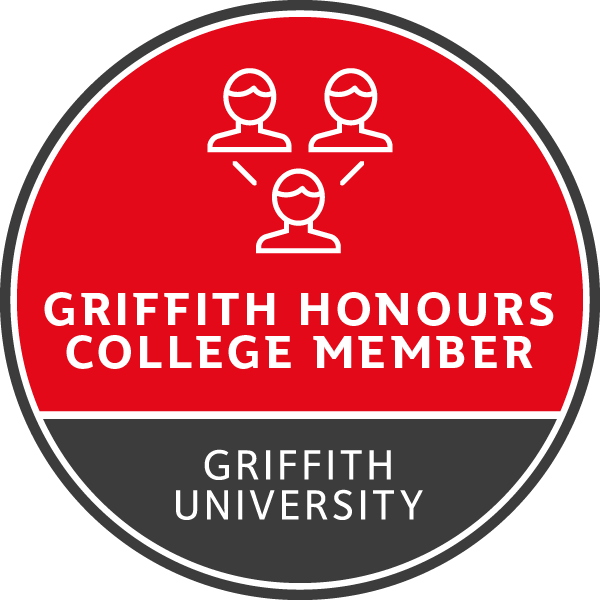 Griffith Honours College Member