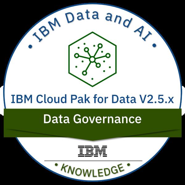 IBM Cloud Pak for Data V2.5.x Data Governance