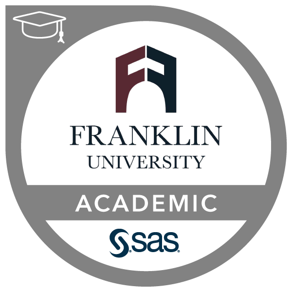 SAS - Franklin University Academic Specialization in Data Analytics