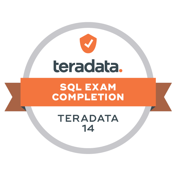 Teradata 14 SQL Exam Completion