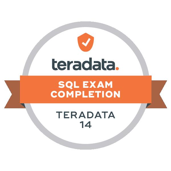 Teradata 14 SQL Exam Completion
