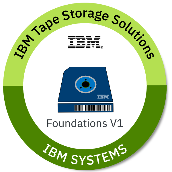 IBM Tape Storage Solutions Foundations V1