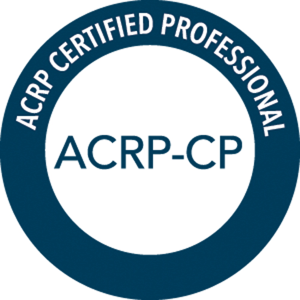 Association of Clinical Research Professionals - Certified Professional (ACRP-CP®)