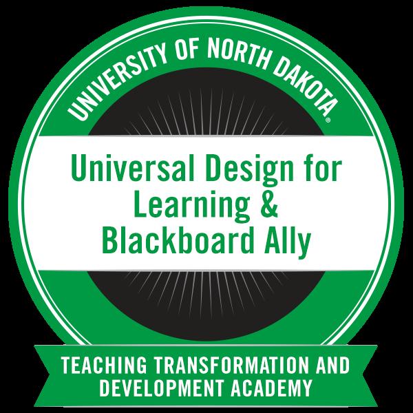 Universal Design for Learning & Blackboard Ally