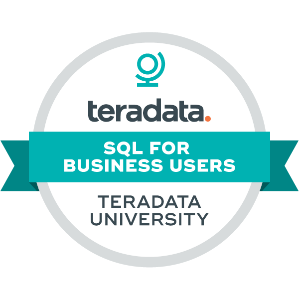 Teradata - SQL for Business Users