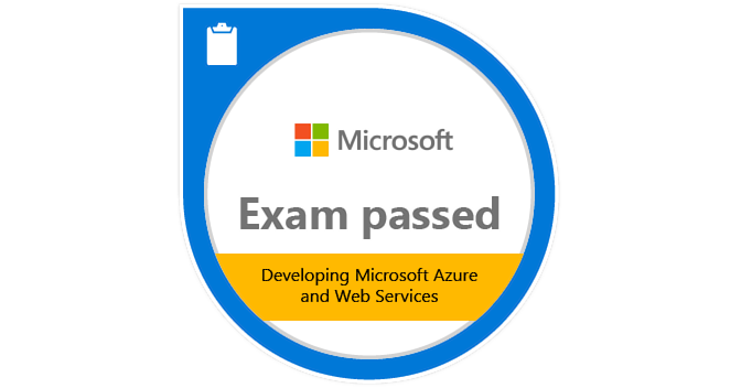 Exam 487 Developing Microsoft Azure And Web Services