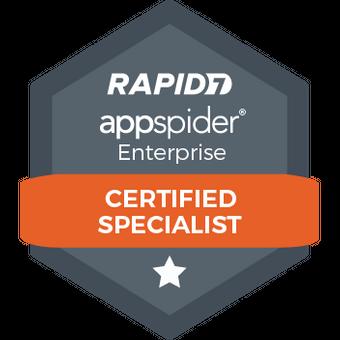 AppSpider Enterprise Certified Specialist