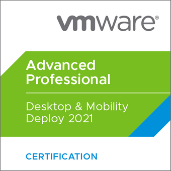 VMware Certified Advanced Professional - Desktop Mobility and Design 2021)