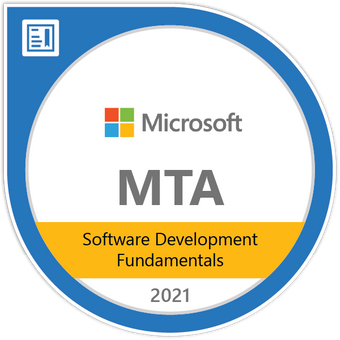 Microsoft Certified: Software Development Fundamentals