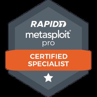 Metasploit Pro Certified Specialist