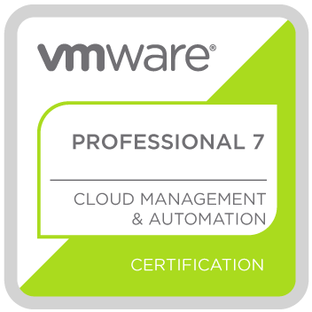 VMware Certified Professional 7 – Cloud Management and Automation