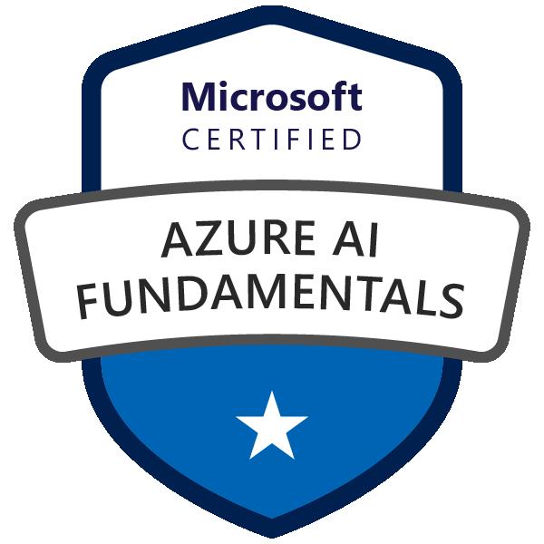 Microsoft Certified: Azure AI Fundamentals