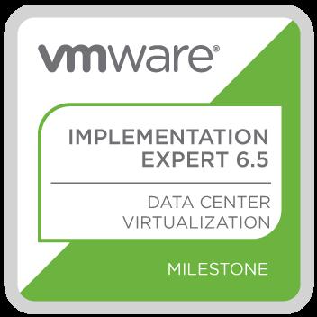 VMware Certified Implementation Expert 6.5 – Data Center Virtualization
