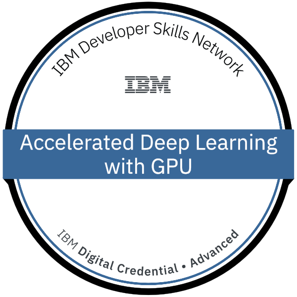 Acclerated Deep Learning GPU Image