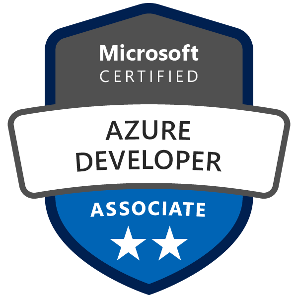 MS Certified: Azure Developer Associate