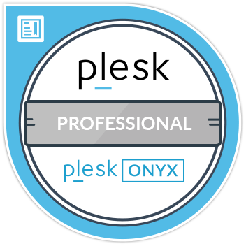 Plesk Onyx Professional Certification