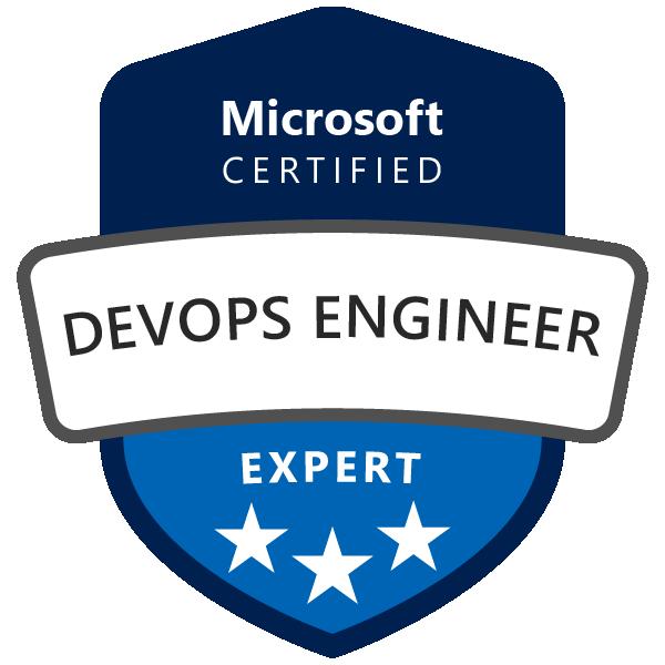 Microsoft Certified: DevOps Engineer Expert - Acclaim