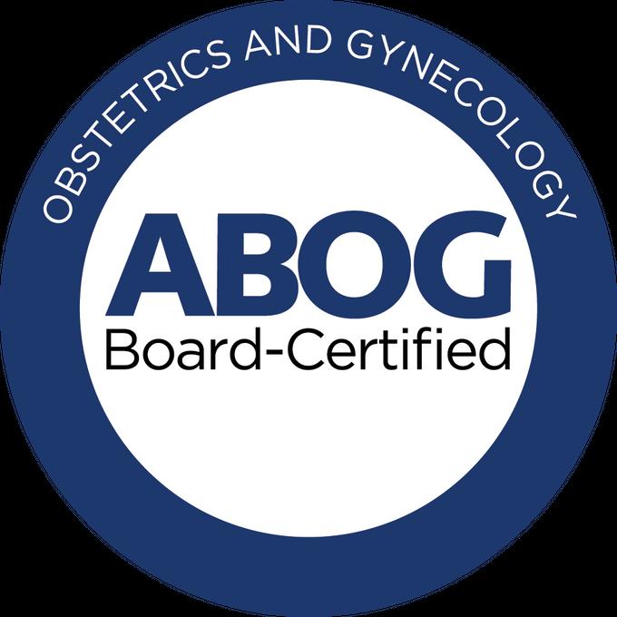 Board Certified Obstetrician Gynecologist