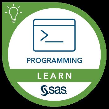 Digital Badge SAS Programming 1: Essentials